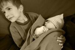 Kisbaba körül nagycsalád