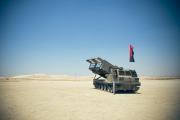 Ez az M270 MLRS rakéta-sorozatvető rendszer Reuven új játékszere