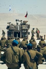 Az M109-es önjáró tarack akcióban